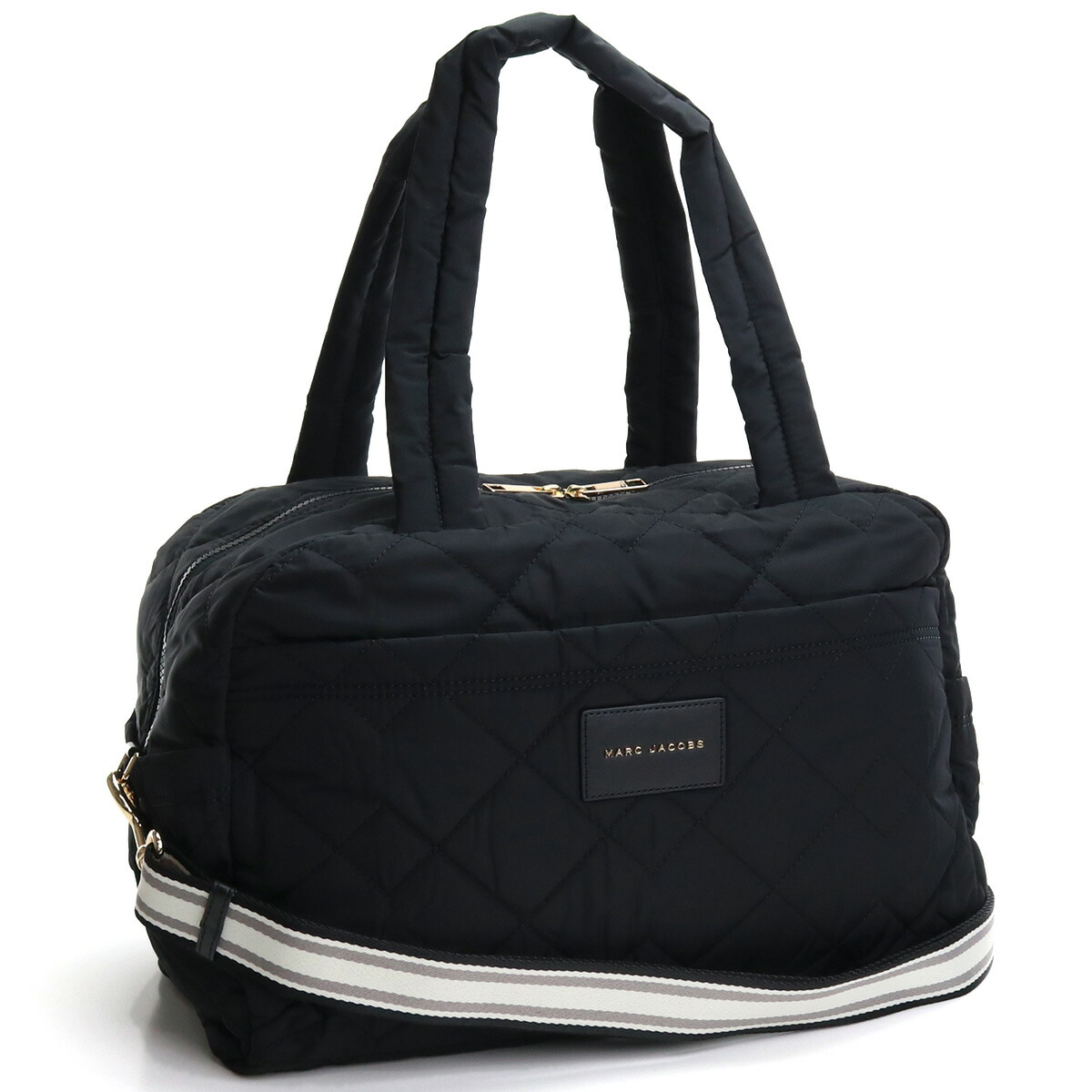 マーク・ジェイコブス MARC JACOBS MEDIUM WEEKENDER ボストンバッグ ボストンバッグ ブランドバッグ 旅行バッグ M0017014 001 BLACK ブラック bag-01