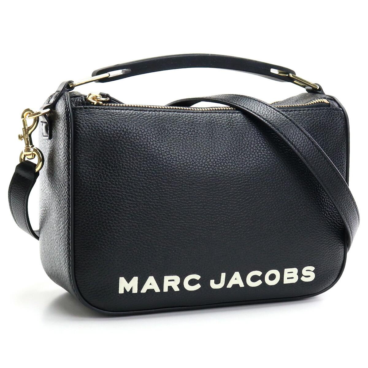マーク・ジェイコブス MARC JACOBS THE SOFT BOX 23 斜め掛け ショルダーバッグ ブランドバッグ M0017037 001 BLACK ブラック