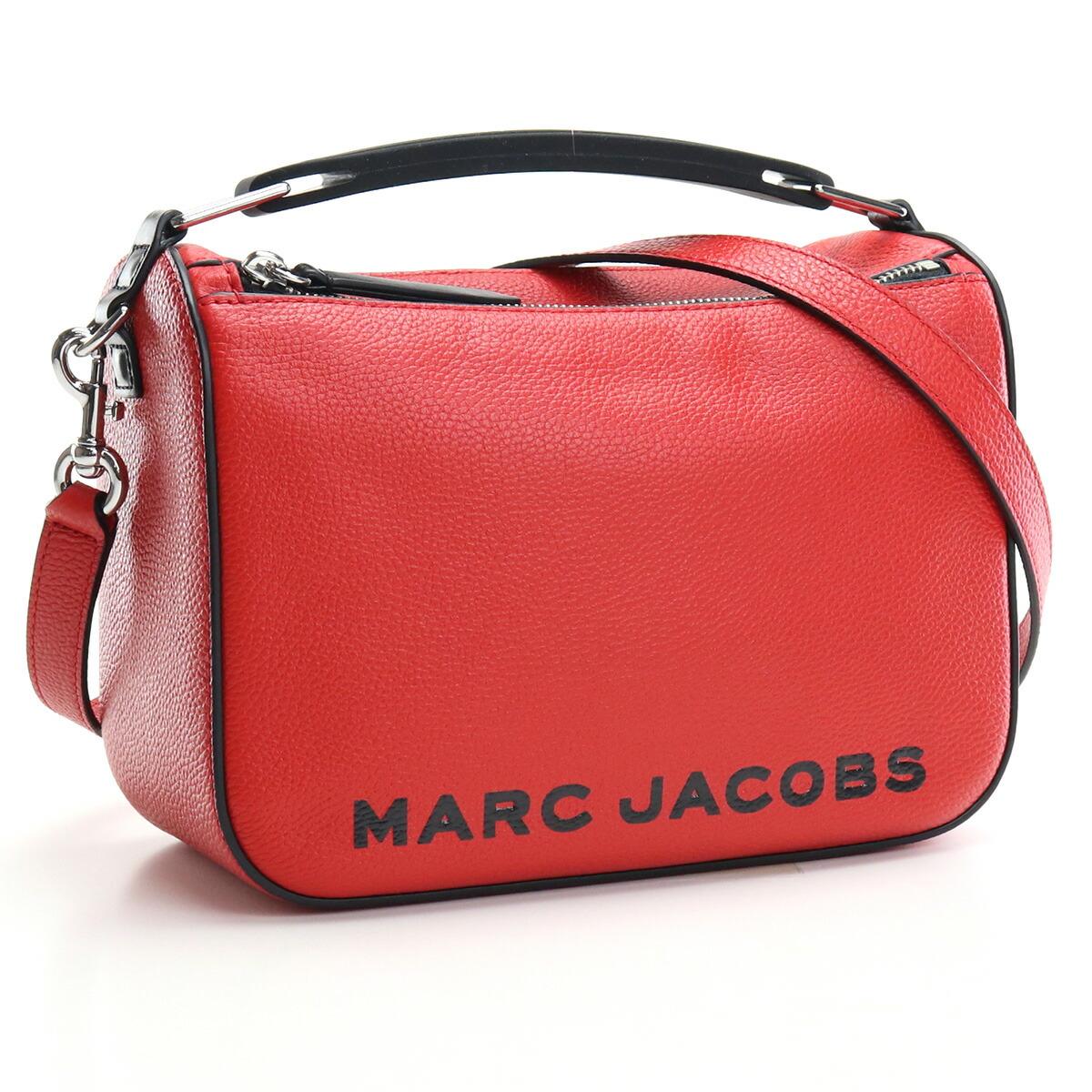 マーク・ジェイコブス MARC JACOBS THE SOFT BOX 23 斜め掛け ショルダーバッグ ブランドバッグ M0017037 617 TRUE RED レッド系
