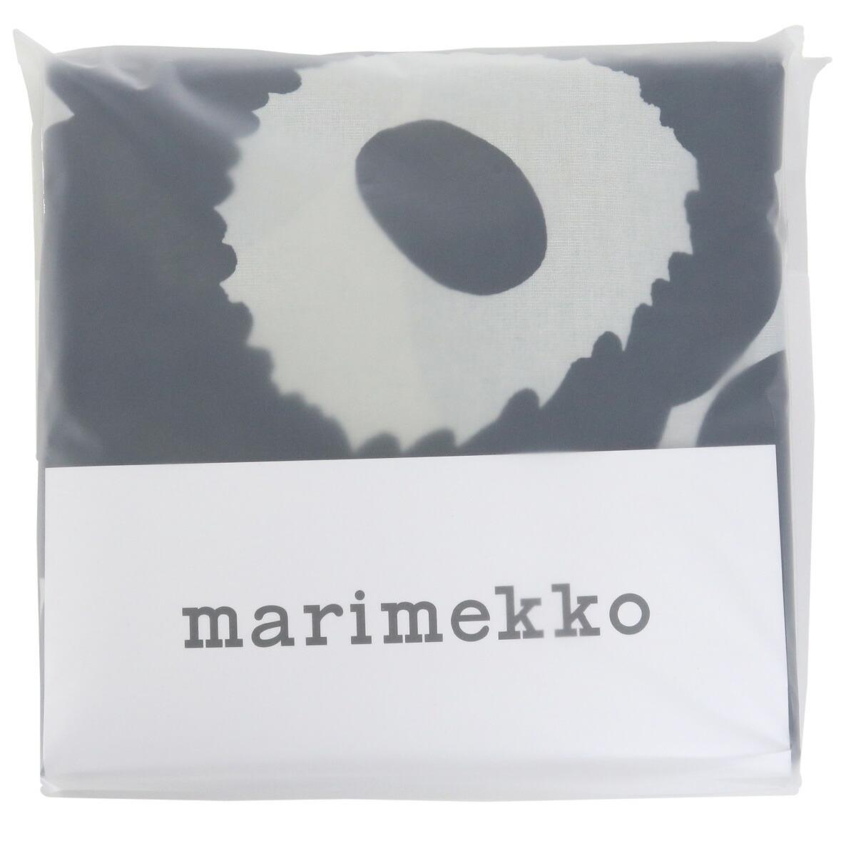 マリメッコ marimekko  生活雑貨 インテリア リネン ベッドルーム 寝具 ウニッコ unikko 70517 掛け布団カバー 851 ブラック