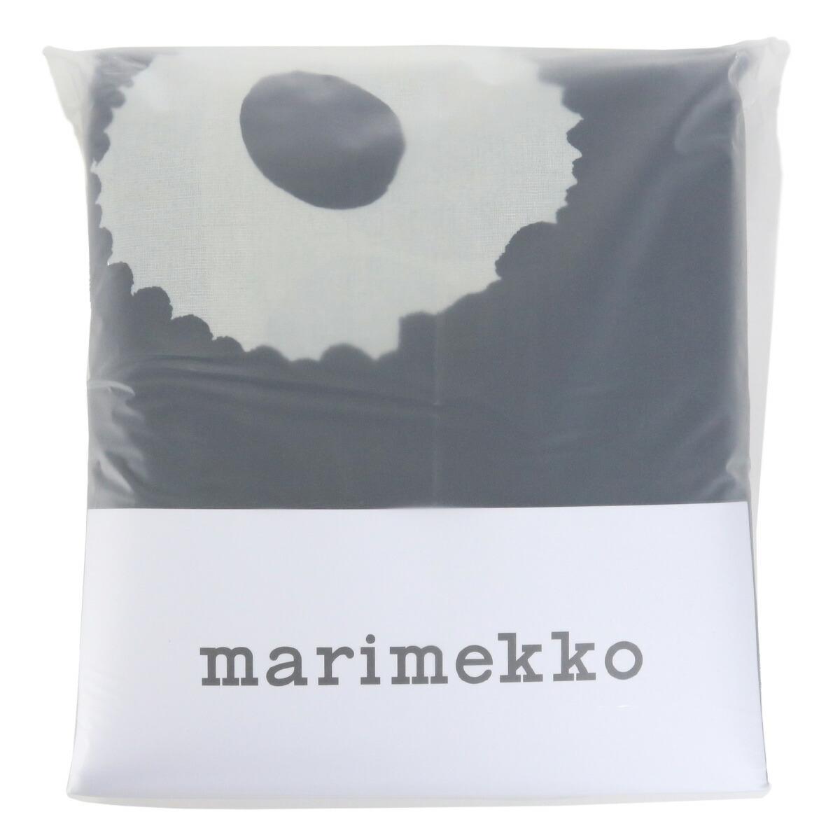 マリメッコ marimekko  生活雑貨 インテリア リネン ベッドルーム 寝具 ウニッコ unikko 70519 掛け布団カバー 851 ブラック