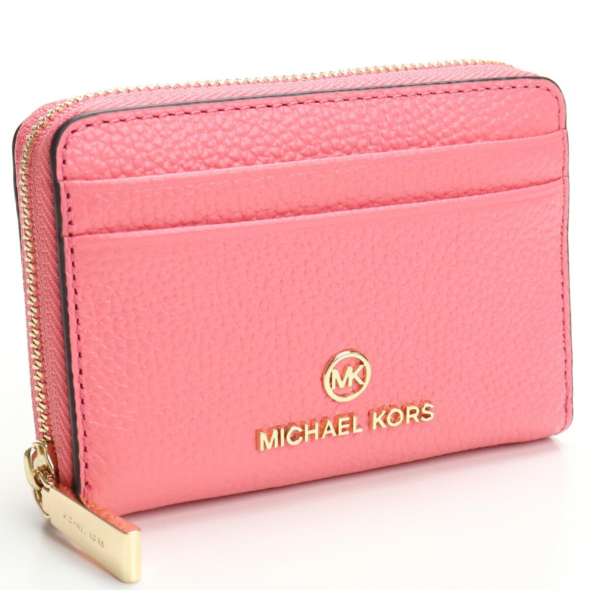 マイケル・コース MICHAEL KORS JET SET CHARM 小銭入れ ブランド小銭入 34S1GT9Z1L 644 TEA ROSE ピンク系