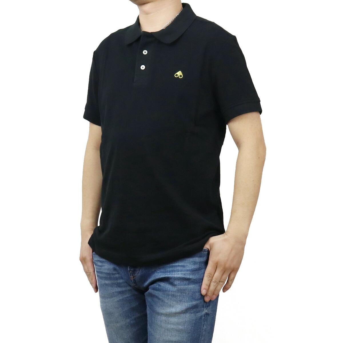ムースナックルズ MOOSE KNUCKLES メンズ-ポロシャツ M10MT712G 292 ブラック bos-21 apparel-01 polo-01 メンズ