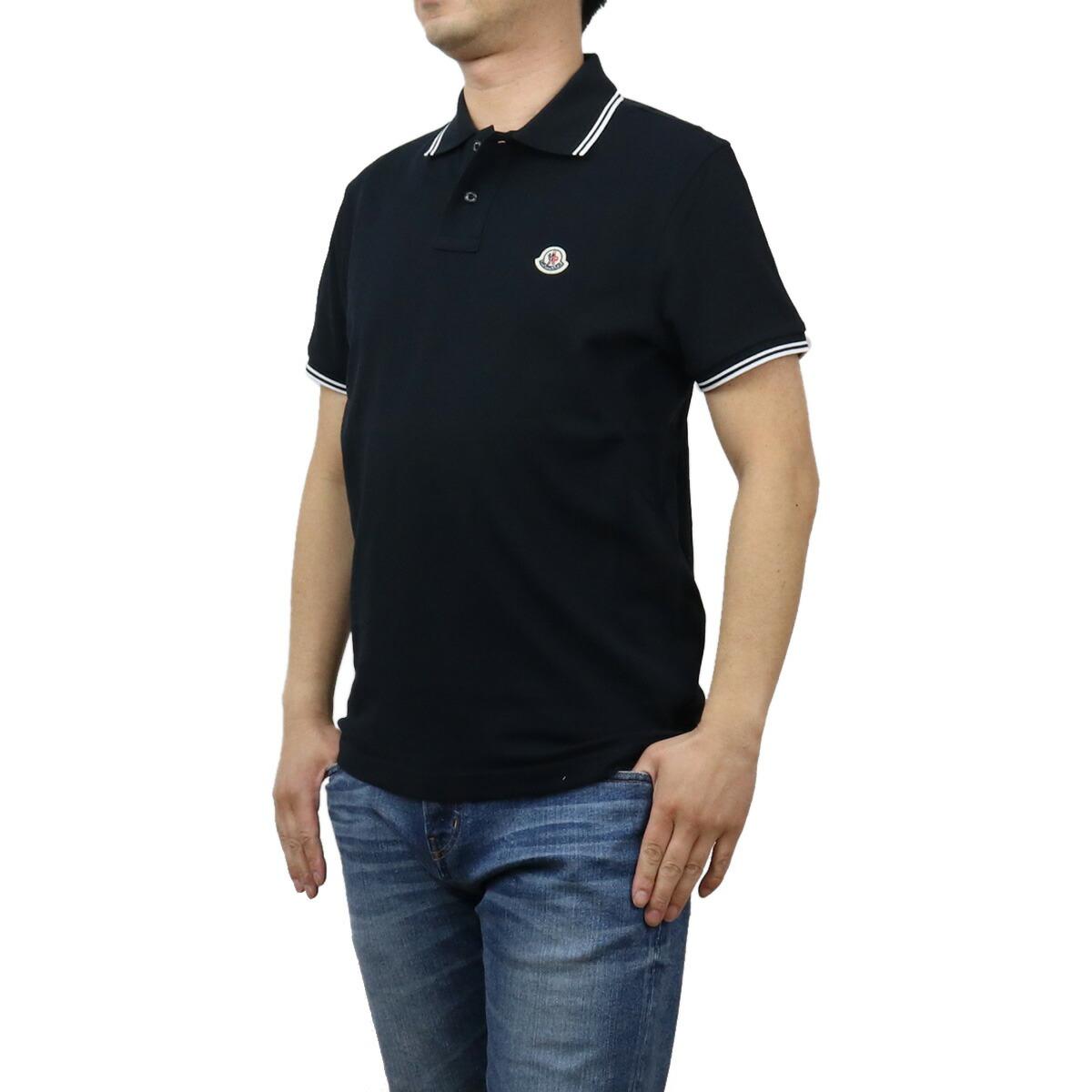 モンクレール MONCLER メンズ-ポロシャツ 8A70600 MAGLIA POLO MAN 84556 773 ネイビー系 bos-10 apparel-01 polo-01 メンズ