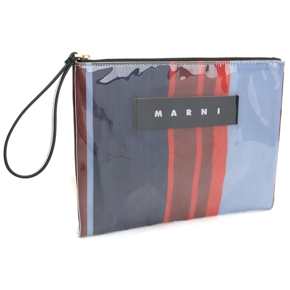 マルニ MARNI  クラッチバッグ ブランドロゴ PHMO0003Q0 P2740 STR64 マルチカラー bos-22 seco-01