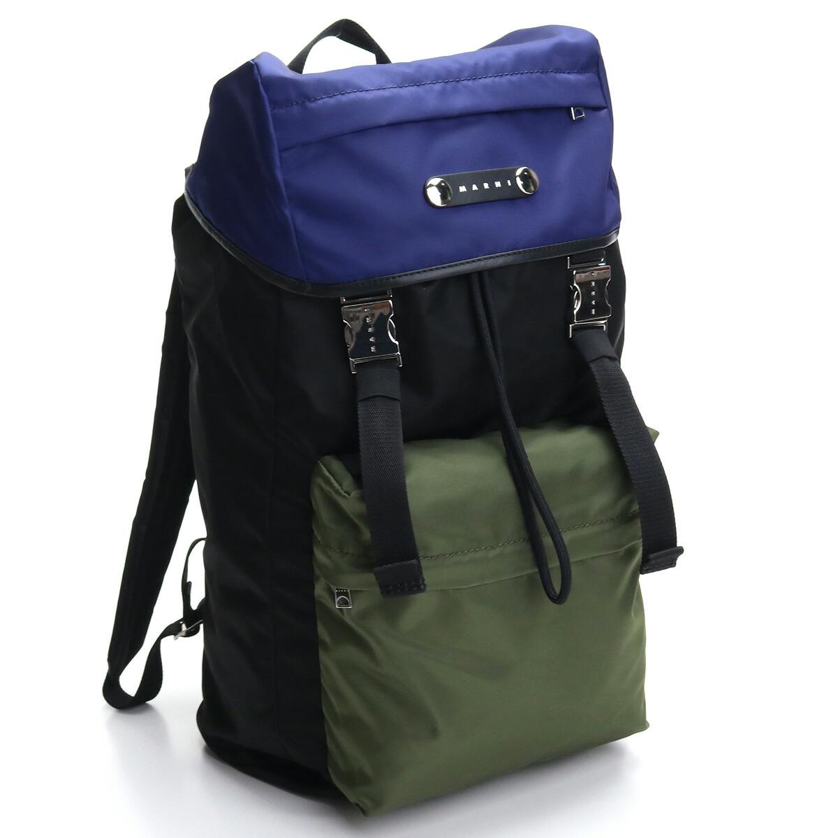 マルニ MARNI  リュック ブランドリュック ZAMQ0024U0 TN685 Z2H96 ブラック マルチカラー bos-22 bag-01