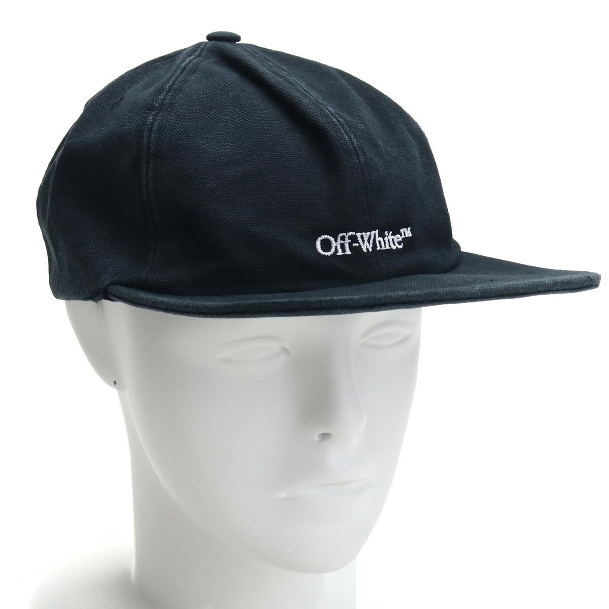 オフホワイト Off-White メンズ-帽子類 OMLB022R2 1FAB006 1001 ブラック cap-01 メンズ