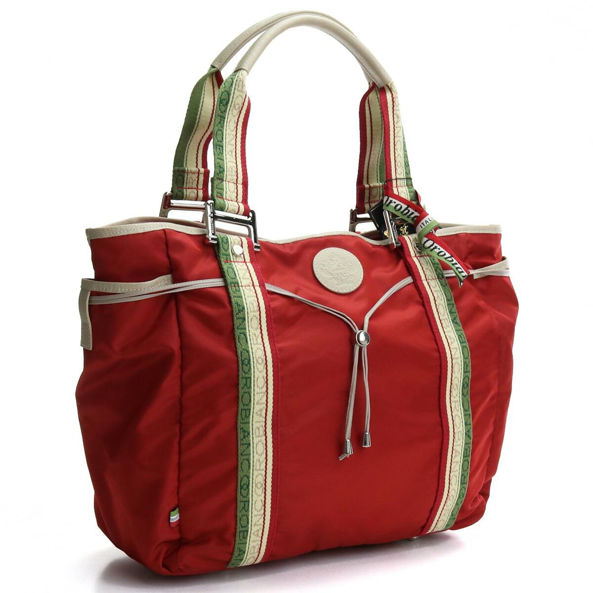オロビアンコ OROBIANCO  トートバッグ ブランドバッグ ARCANA DA-A 03/08 ROSSO/DAINO レッド系 bag-01