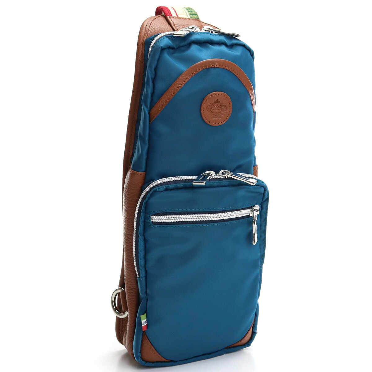 オロビアンコ OROBIANCO  ボディバッグ GIACOMIO DA-N 11/08 GOLFO/MATTONE ブルー系 ブラウン系 bag-01