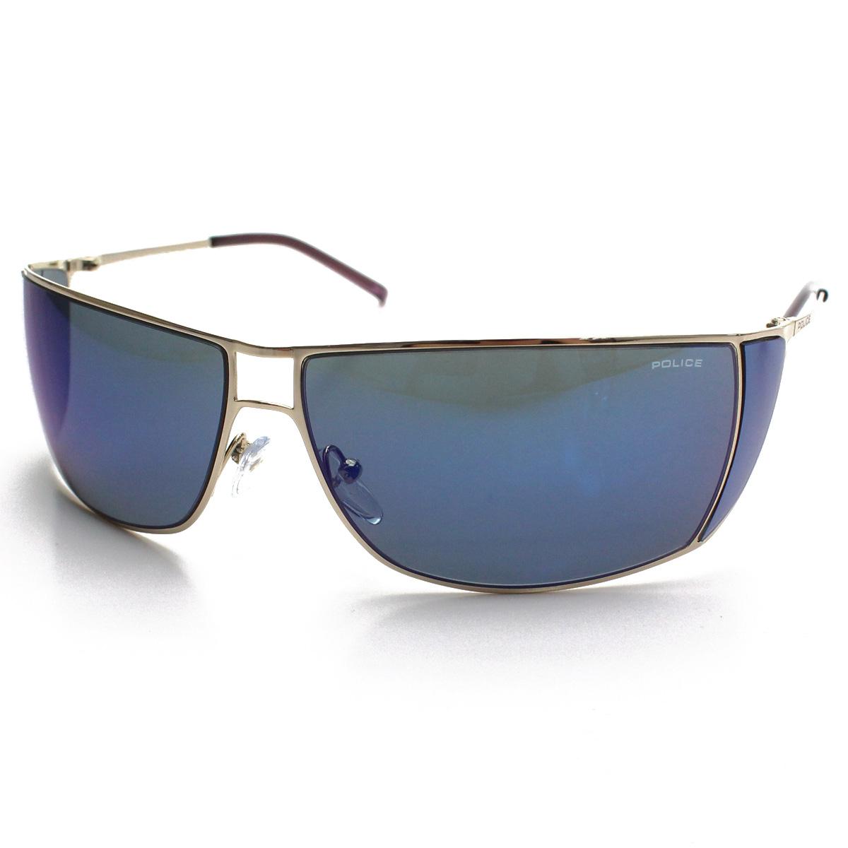 ポリス POLICE サングラス S2819K 300B ブルー系 メンズ  men's