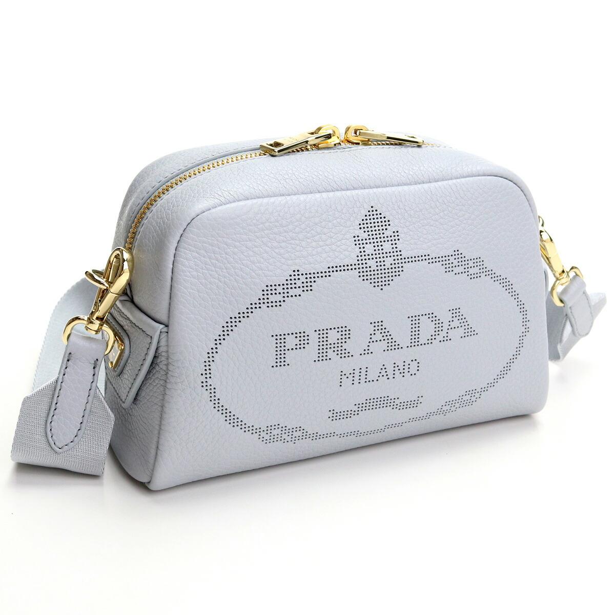 プラダ PRADA  斜め掛け ショルダーバッグ 1BH187 2DKV V OLO F0591 FIORDALISO グレー系 bag-01