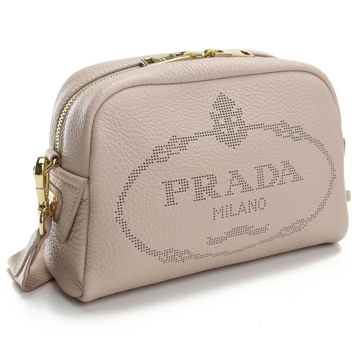 プラダ PRADA  斜め掛け ショルダーバッグ ブランドロゴ ブランドバッグ 1BH187 2DKV V OLO F0NZ2 NINFEA ピンク系 bag-01