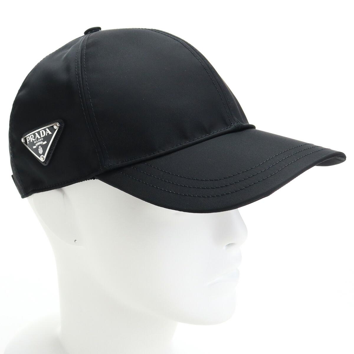 プラダ PRADA  ユニセックス-帽子類 ブランドキャップ ブランドロゴ 1HC274 2DMI F0002 ブラック cap-01