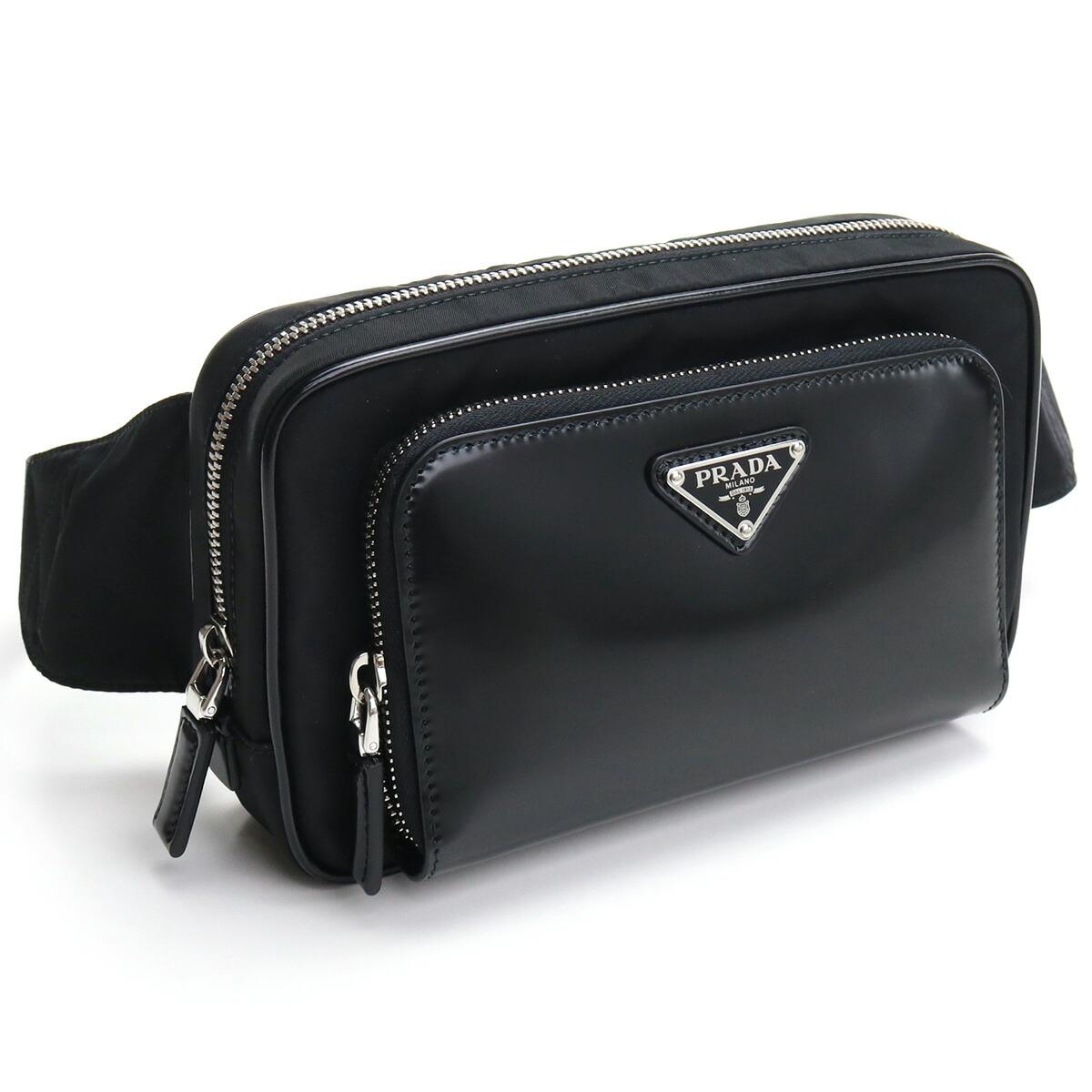 プラダ PRADA  ウエストバッグ 2VL977 789 V WOT F0002 NERO ブラック bos-08 bag-01