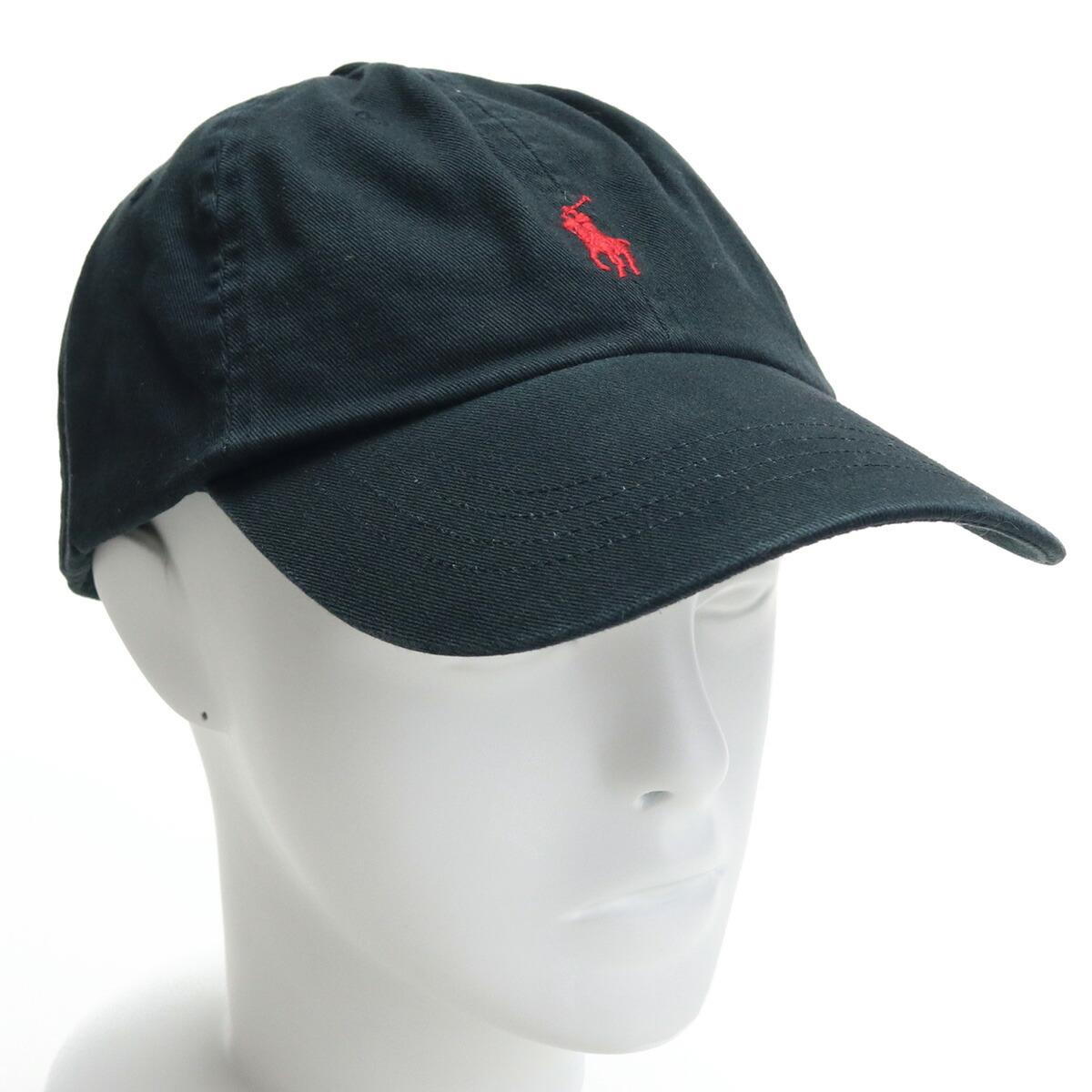ラルフローレン RALPH LAUREN メンズ-帽子類 710548524 004 BLACK/R ブラック cap-01 メンズ