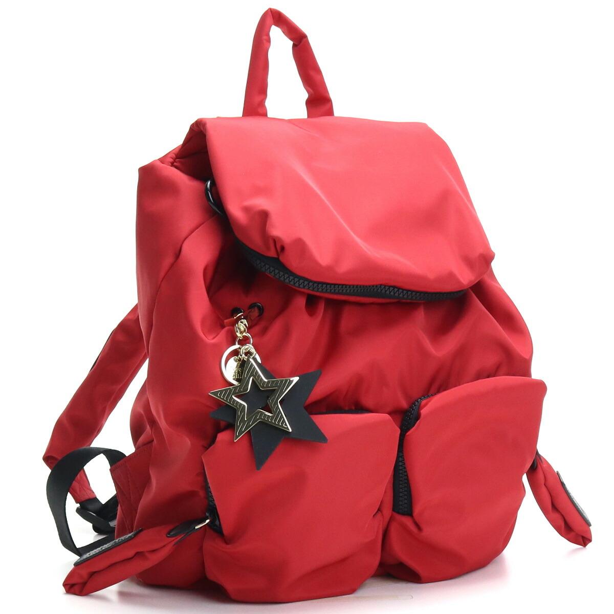 シーバイクロエ SEE BY CHLOE リュック ママバッグ CHS16SS840140 636 RED FLAME レッド系 レディース