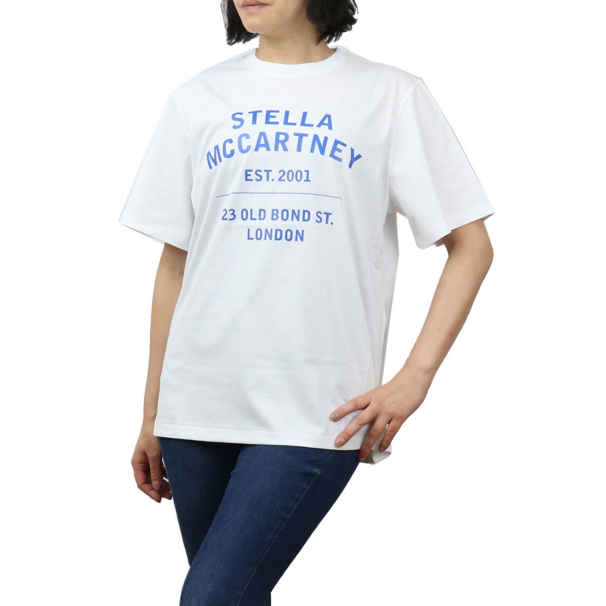 ステラマッカートニー STELLA MCCARTNEY レディース-Tシャツ 601849 SMP86 9000 ホワイト系 bos-11 apparel-01 ts-01 最安値挑戦中レディース