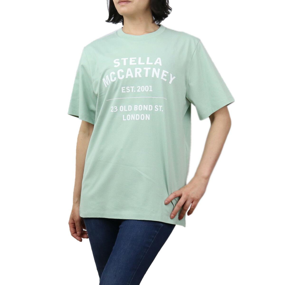 ステラマッカートニー STELLA MCCARTNEY レディース-Tシャツ 601849 SMP86 9440 グリーン系 bos-11 apparel-01 ts-01 最安値挑戦中レディース