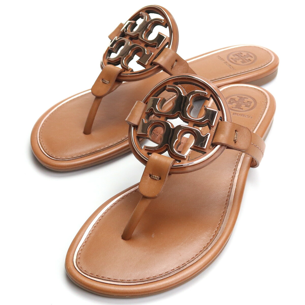 トリーバーチ TORY BURCH サンダル 47617 212 ブラウン系 shoes-01 レディース