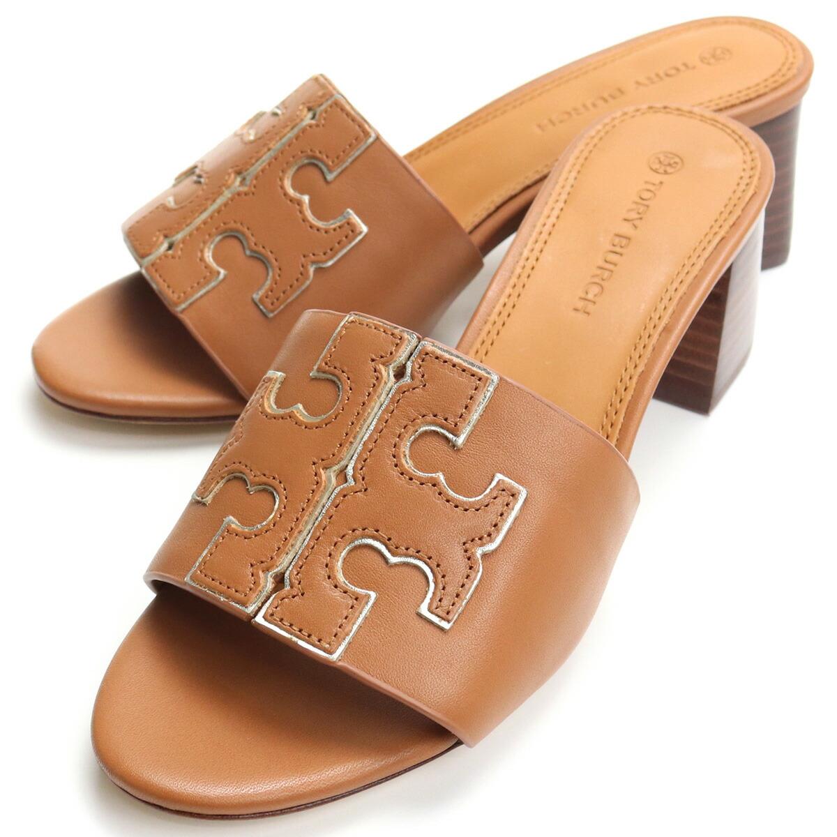 トリーバーチ TORY BURCH サンダル 66261 207 TAN/SPARK GOLD ブラウン系 shoes-01 レディース