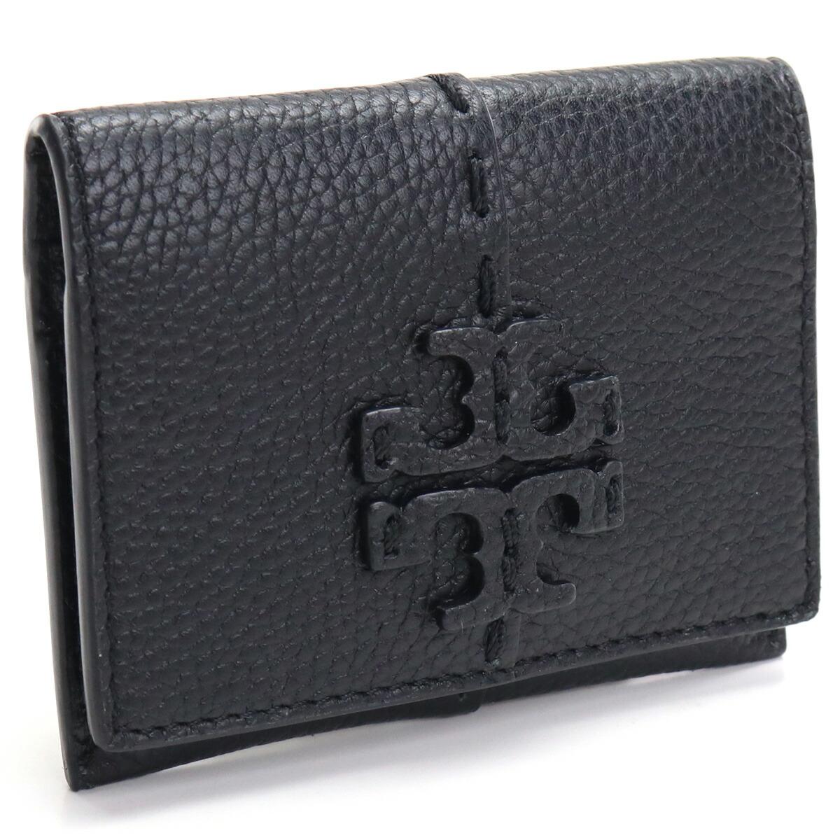トリーバーチ TORY BURCH MCGRAW カードケース 79424 001 BLACK ブラック gsw-3