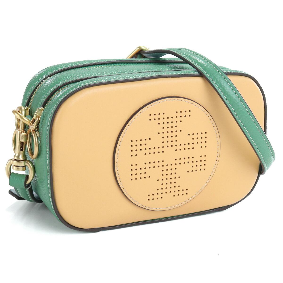 トリーバーチ TORY BURCH PERRY BOMBE 斜め掛け ショルダーバッグ ブランドバッグ 80785 267 JACKFRUIT/PATINA オレンジ系 グリーン系 bag-01