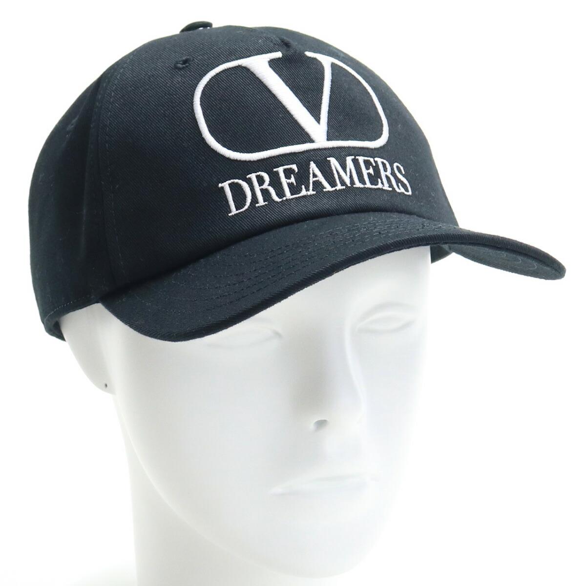 ヴァレンティノ VALENTINO  メンズ-キャップ 帽子類 TY0HDA10 KJC 0NI ブラック  bos-18 cap-01
