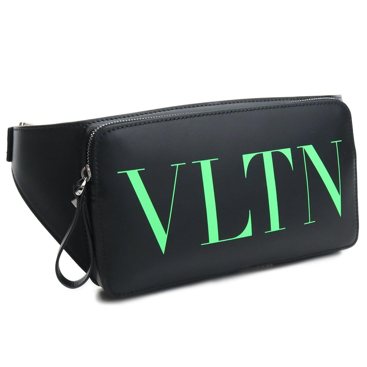 ヴァレンティノ VALENTINO ボディバッグ UY2B0719 FQK IN4 レザー ブラック メンズ