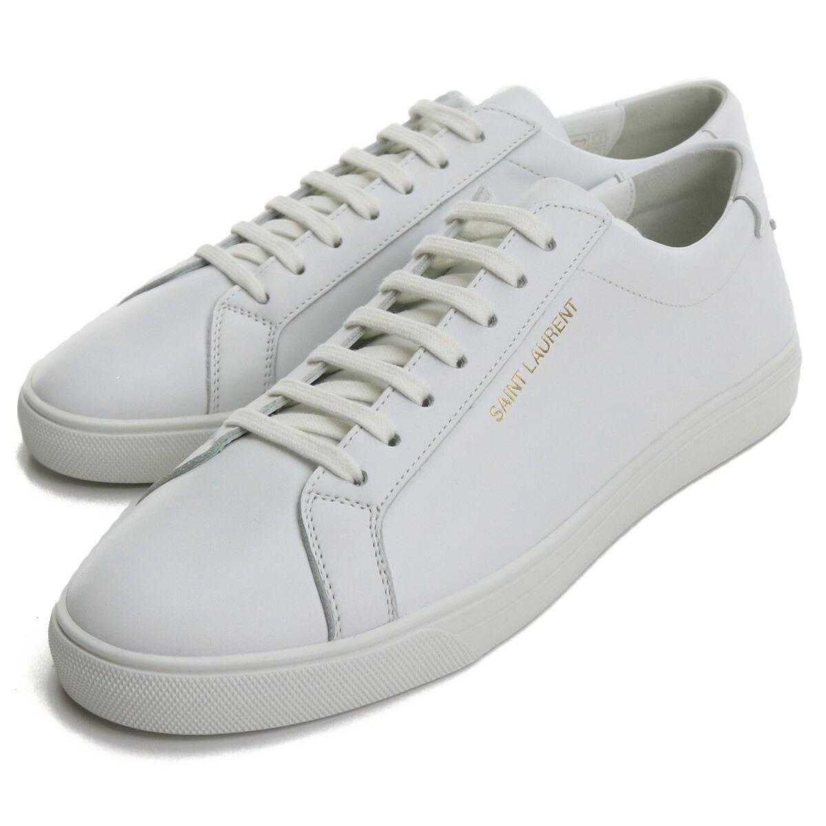 サンローラン SAINT LAURENT メンズスニーカー 606833 0M500 9030 ホワイト系 bos-14 shoes-01 メンズ